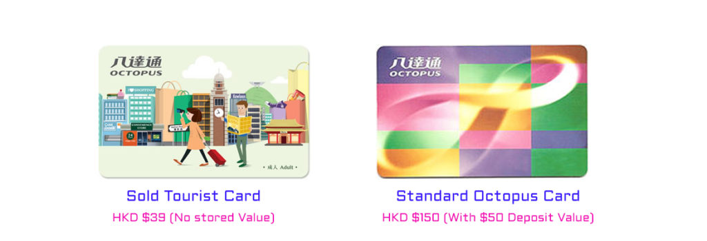 comparison of hong kong octopus travel card