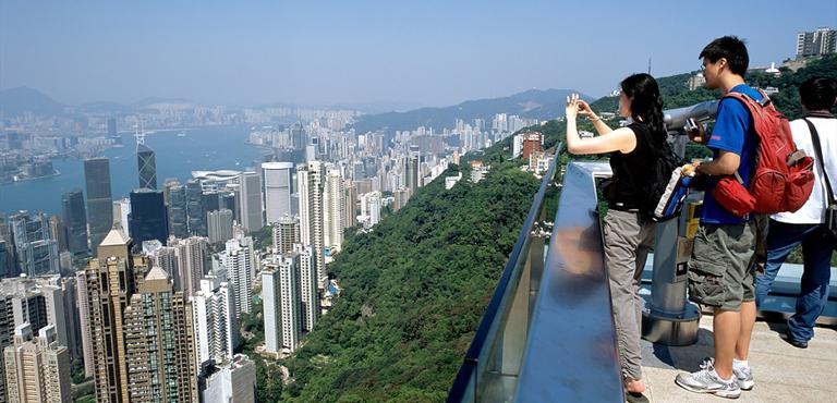 the peak hong kong observation deck