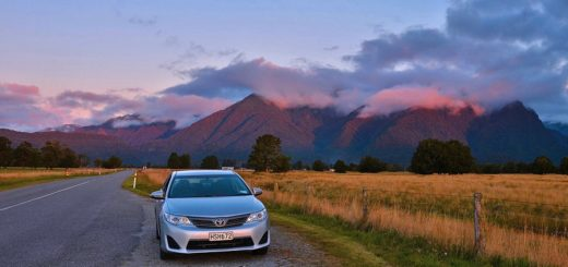 Driving A Used Car for Road Trip in New Zealand